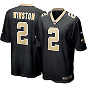 Nike Men's New Orleans Saints Jameis Winston #2 Red Game Jersey