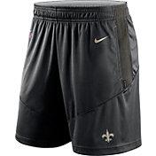 Nike Men's New Orleans Saints Sideline Dri-FIT Black Performance Shorts