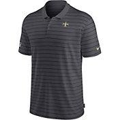 Nike Men's New Orleans Saints Sideline Early Season Anthracite Performance Polo