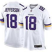Nike Men's Minnesota Vikings Justin Jefferson #18 White Game Jersey