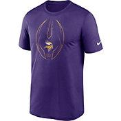 Nike Men's Minnesota Vikings Legend Icon Purple Performance T-Shirt