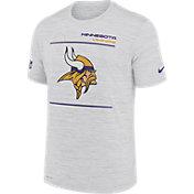 Nike Men's Minnesota Vikings Sideline Legend Velocity White T-Shirt