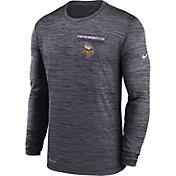 Nike Men's Minnesota Vikings Sideline Legend Velocity Black Long Sleeve T-Shirt