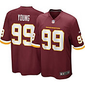 Nike Men's Washington Football Team Chase Young #99 Red Game Jersey
