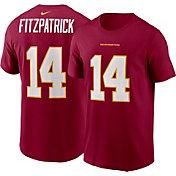 Nike Men's Washington Football Team Ryan Fitzpatrick #14 Red T-Shirt