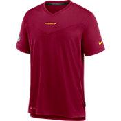 Nike Men's Washington Football Team Sideline Coaches Red T-Shirt