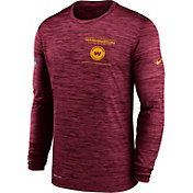 Nike Men's Washington Football Team Sideline Legend Velocity Red Long Sleeve T-Shirt