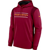 Nike Men's Washington Football Team Sideline Therma-FIT Red Pullover Hoodie