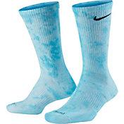 Nike Sportswear Tie Dye Crew Socks - 2 Pack