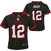 Nike Toddler Tampa Bay Buccaneers Tom Brady #12 Pewter Game Jersey