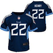 Nike Toddler Tennessee Titans Derrick Henry #22 Navy Game Jersey