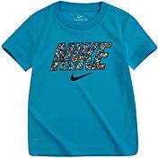 Nike Little Boys' Dri-FIT Digi Confetti Block Graphic T-Shirt