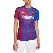 Nike Women's FC Barcelona '21 Breathe Stadium Home Replica Jersey