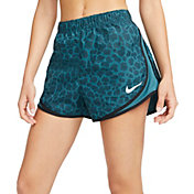 "Nike Women's Dri-FIT Tempo Leopard Print 3"" Running Shorts"