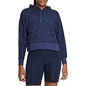 Nike Women's Dri-FIT Get Fit Printed Pullover Training Hoodie