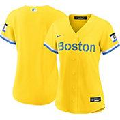 Nike Women's Boston Red Sox Gold 2021 City Connect Replica Baseball Jersey