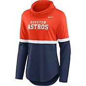 Nike Women's Houston Astros Navy Cowl Neck T-Shirt