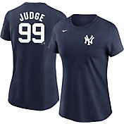 Nike Women's New York Yankees Aaron Judge  #99 Blue T-Shirt