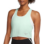 Nike Women's Miler Breathe Cool Cropped Running Top