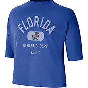 Nike Women's Florida Gators Blue Boxy T-Shirt
