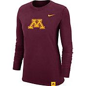 Nike Women's Minnesota Golden Gophers Maroon Dri-FIT Crew Cuff Long Sleeve T-Shirt