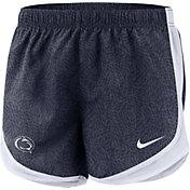 Nike Women's Penn State Nittany Lions Blue Dri-FIT Tempo Shorts