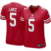 Nike Women's San Francisco 49ers Trey Lance Red #5 Game Jersey