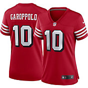 Nike Women's San Francisco 49ers Jimmy Garoppolo #10 Alternate Red Game Jersey