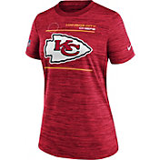 Nike Women's Kansas City Chiefs Sideline Legend Velocity Red Performance T-Shirt