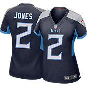 Nike Women's Tennessee Titans Julio Jones #2 Navy Game Jersey