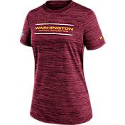 Nike Women's Washington Football Team Sideline Legend Velocity Red Performance T-Shirt