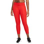 Nike Women's Dri-FIT One Icon Clash Mid-Rise 7/8 Printed Leggings