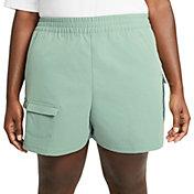 Nike Women's Plus Size Sportswear Swoosh Shorts