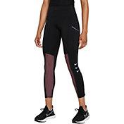 Nike Women's Dri-FIT ADV Run Division Epic Luxe Mid-Rise 7/8 Running Leggings