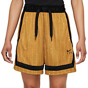 Nike Women's Dri-FIT Swoosh Fly Crossover Striped Basketball Shorts