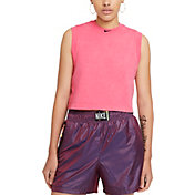 Nike Women's Sportswear Washed Cropped Tank Top