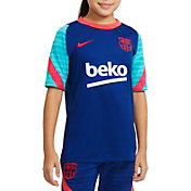 Nike Youth FC Barcelona Royal Prematch Jersey