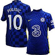 Nike Men's Chelsea FC '21 Christian Pulisic #10 Breathe Stadium Home Replica Jersey