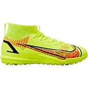 Nike Kids' Mercurial Superfly 8 Academy Turf Soccer Cleats