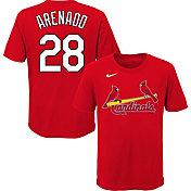 Nike Youth St. Louis Cardinals Nolan Arenado #28 Red T-Shirt