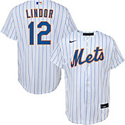 Nike Youth New York Mets Francisco Lindor #12 White Replica Jersey