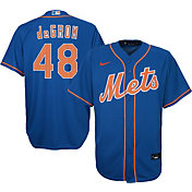 Nike Youth New York Mets Jacob deGrom #48 Blue Cool Base Jersey