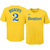 Nike Youth Boston Red Sox Xander Boegarts #2 Gold 2021 City Connect T-Shirt