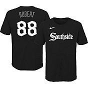 Nike Youth Chicago White Sox Luis Robert #88 Black T-Shirt