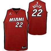 Jordan Youth Miami Heat Jimmy Butler #22 Red Dri-FIT Swingman Jersey