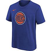 Nike Youth New York Knicks Blue Logo T-Shirt