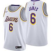 Nike Youth Los Angeles Lakers LeBron James #6 Dri-FIT Swingman Jersey