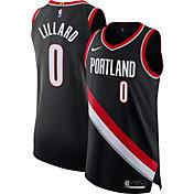 Nike Youth Portland Trailblazers Damian Lillard Black Icon Jersey