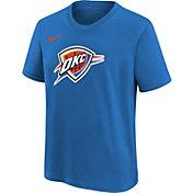 Nike Youth Oklahoma City Thunder Blue Logo T-Shirt