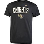 Nike Youth UCF Knights Dri-FIT Legend Black T-Shirt